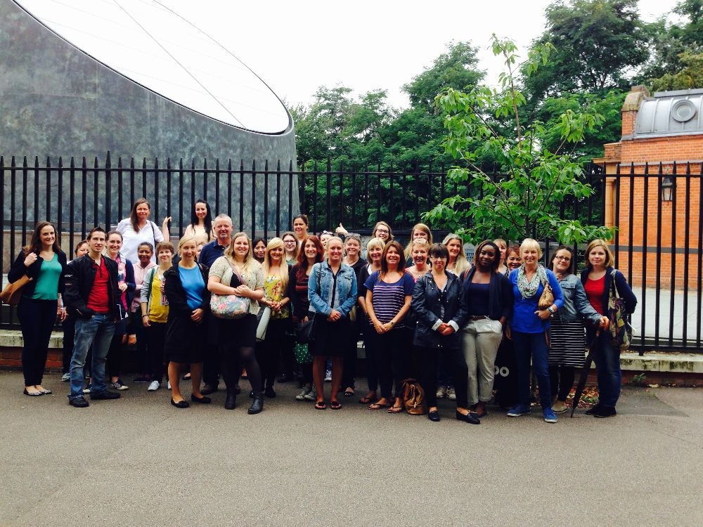 Staff INSET at the Royal Observatory, Greenwich